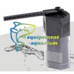 Filtre interne d'angle 450 L/H pour petit aquarium pas cher
