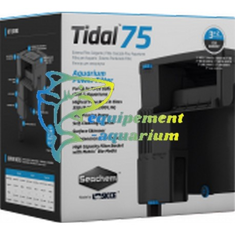 Seachem Tidal 75 filtre suspendu cascade pour aquarium