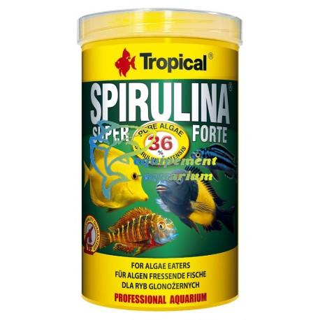 Tropical spirulina forte 36% flakes
