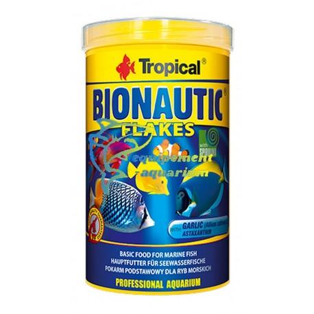 Tropical bionautic flakes, nourriture poissons de mer