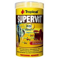Tropical supervit flakes, nourriture poissons exotiques aquarium