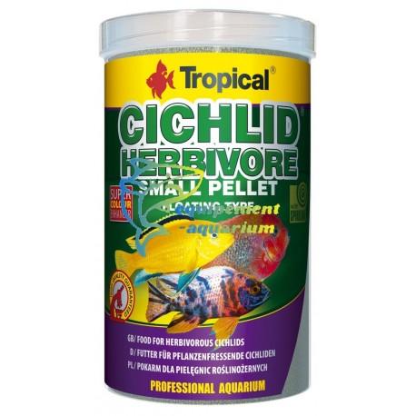 Tropical Cichlid herbivore pellet S