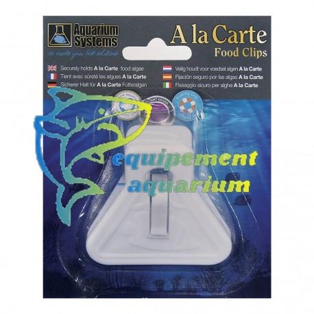 Pince clips à algues Aquarium systems