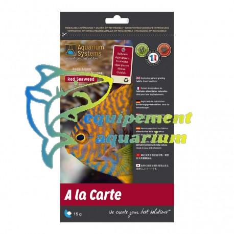 Algues rouges 15gr aquarium systems a la carte