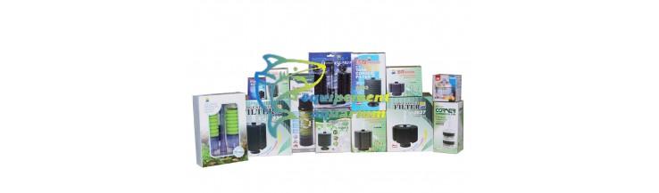 Filtres exhausteurs aquarium